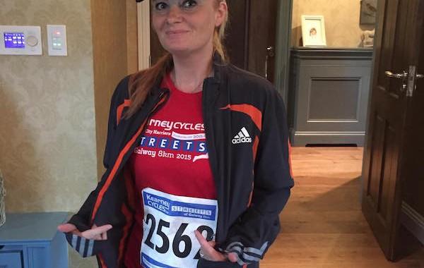 reasons to exercise - Yvonnes marathon run